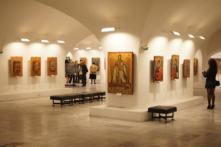 Крипта - Храм-паметник Св. Александър Невски