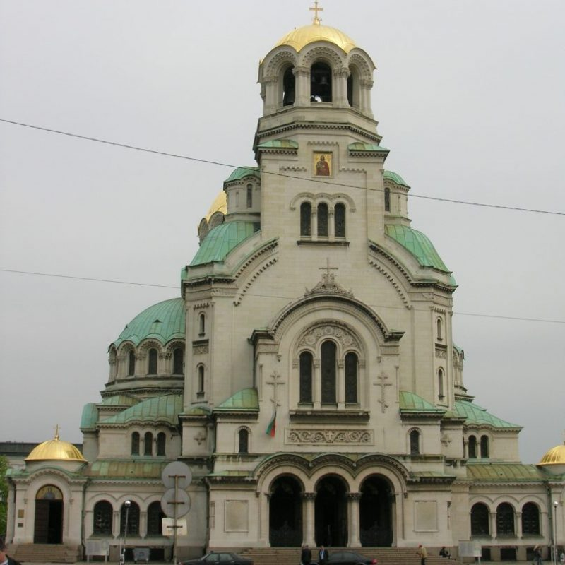 The Alexander Nevski cathedral