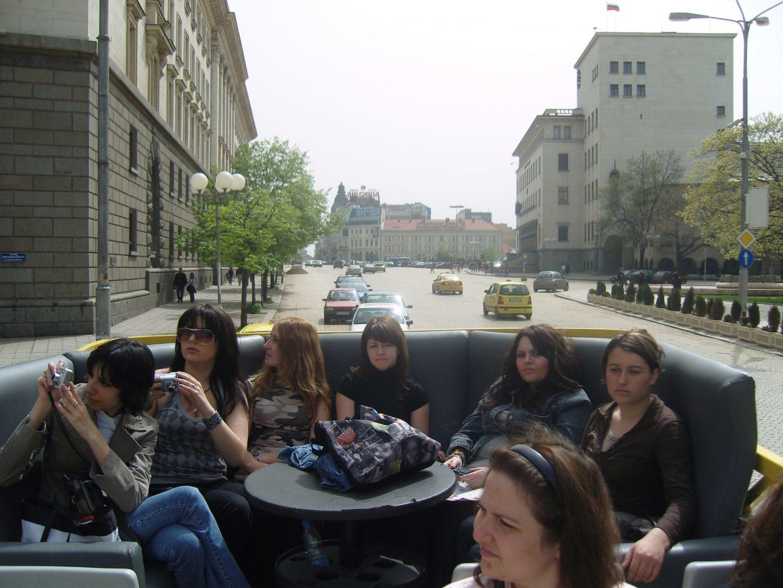 обиколка на софия с открит автобус