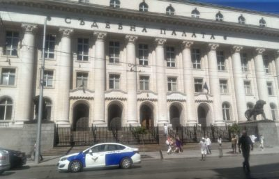 Сградата на Съдебната палата
